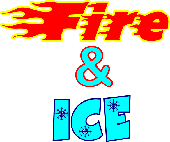 Ice clipart fire. Let s pretend toys