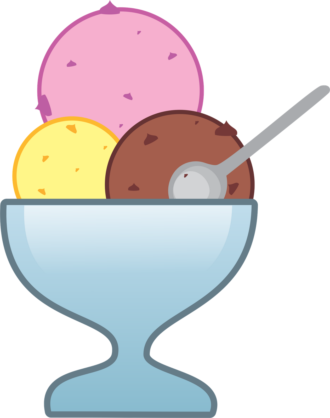 Ice cream at getdrawings. Sundae clipart banner freeuse download