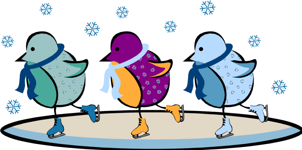 Skating clipart. Free pictures of ice