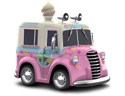 Ice cream truck png. Image cie car town