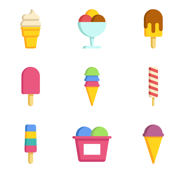 Ice cream vector png. Icon packs svg