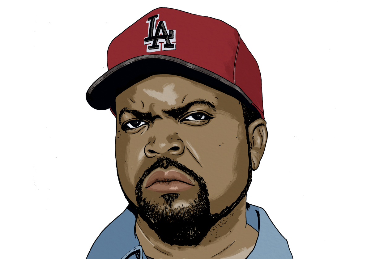 Ice cube rapper png. Is one of rap