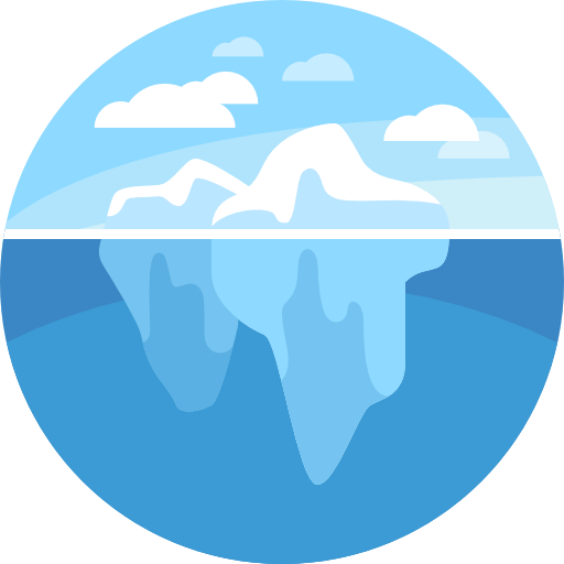 Iceberg clipart ice block. Icons free download demo