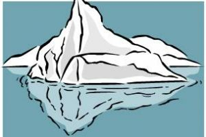 Iceberg clipart ice block. Gorgeous inspiration cartoon hand