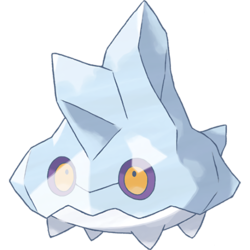 Iceberg clipart ice block. Bergmite pok mon bulbapedia