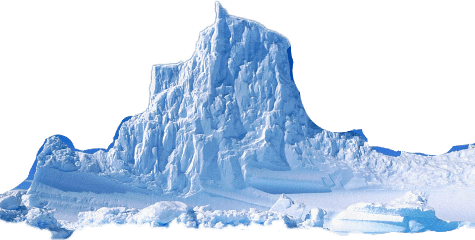 Iceberg clipart ice cap. Drifting transparent png stickpng