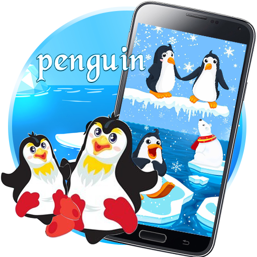 Iceberg clipart peguin. Penguin live wallpaper amazon
