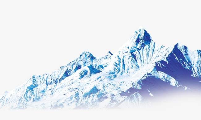 Iceberg clipart snow mountain. Png image and