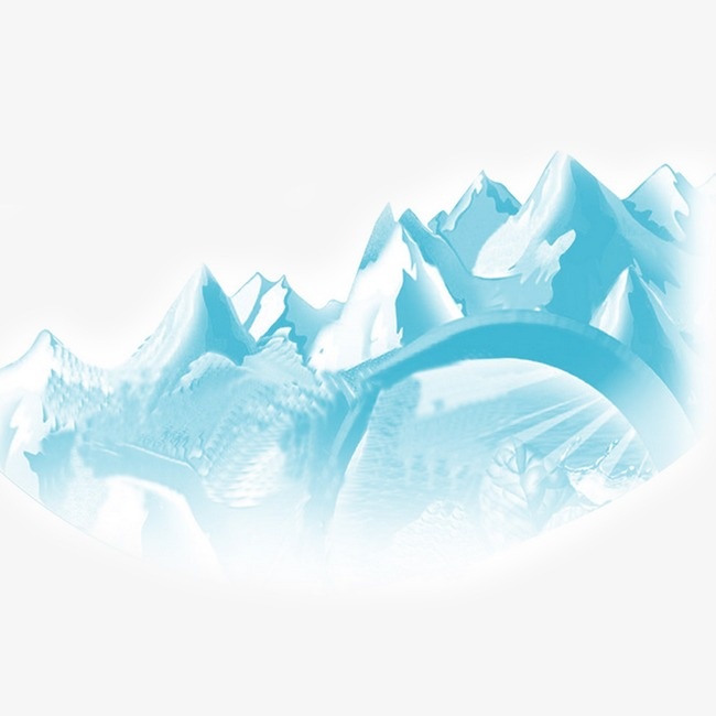 Iceberg clipart snow mountain. Peak png image and