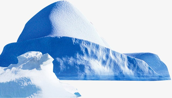 Snowy background blue png. Iceberg clipart snow mountain vector library