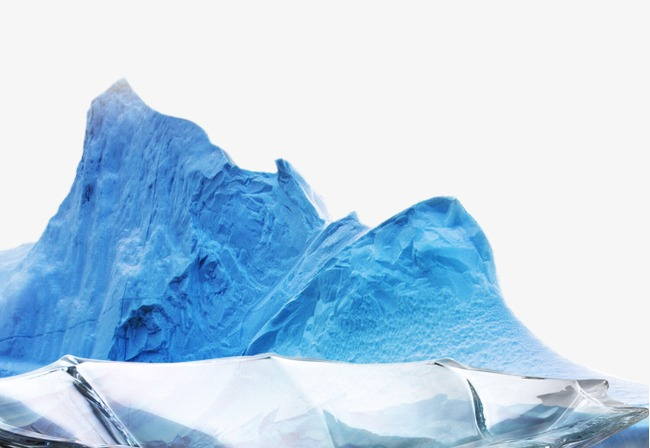 Iceberg clipart snow mountain. Winter elements png image