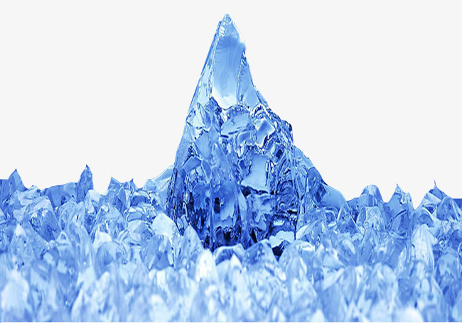 Crushed ice iced peaks. Iceberg clipart snow mountain picture library download