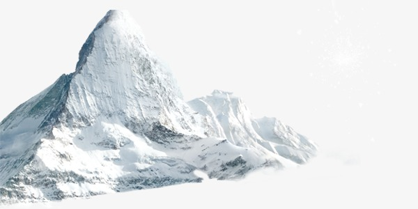 Snowy winter png image. Iceberg clipart snow mountain svg free download