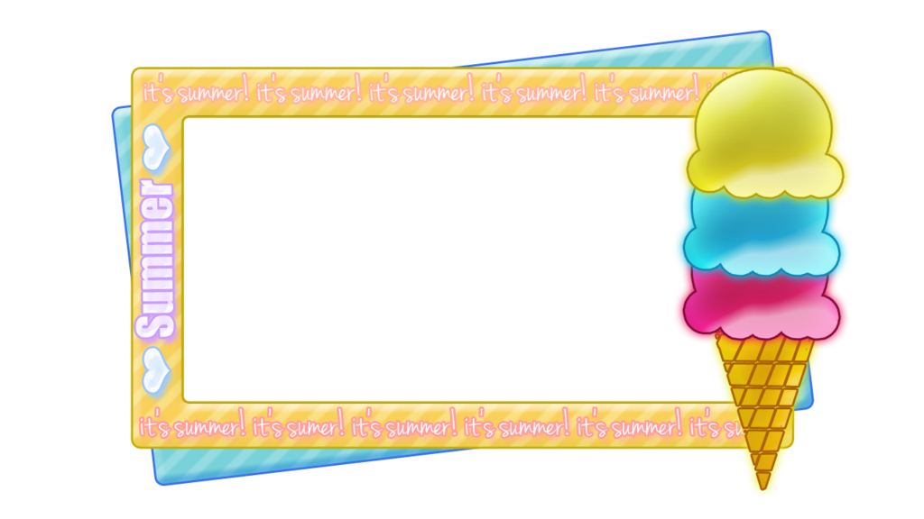 Free borders cliparts download. Summer border png picture stock