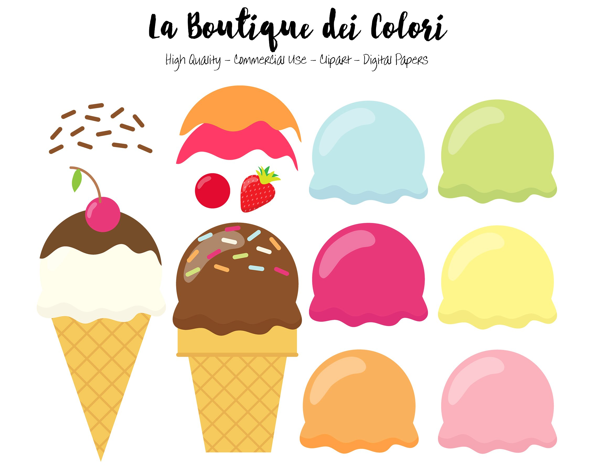 Picture clipart ice cream. Make your own illustrations