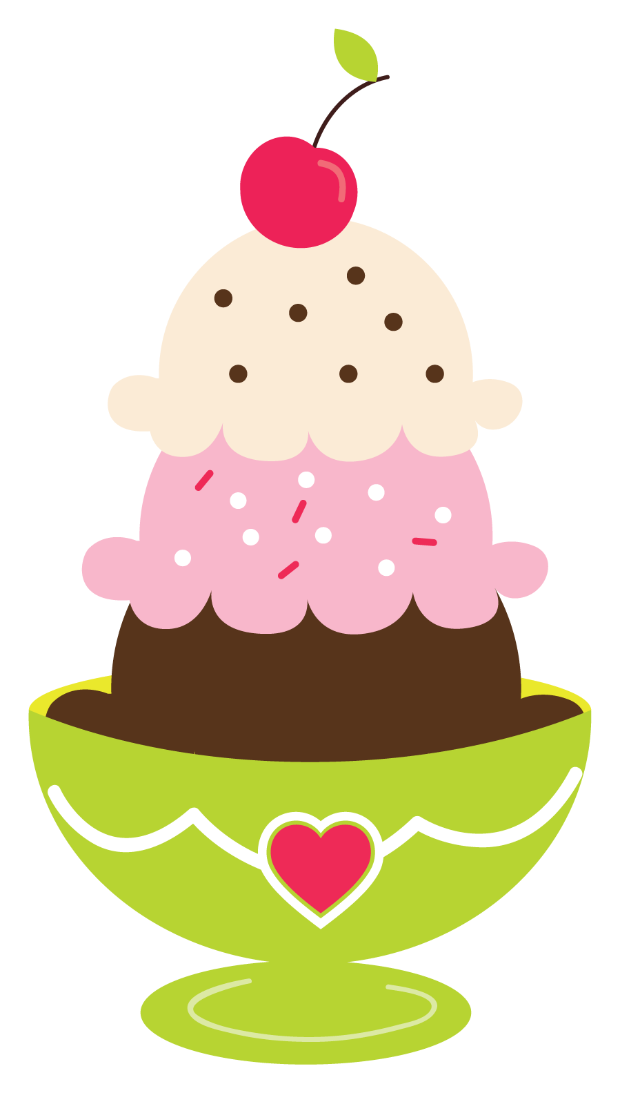 Icecream vector pink