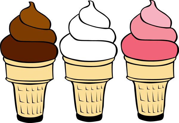 Spice up your design. 3 clipart ice cream cone vector black and white download