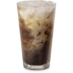 Iced coffee png. Vanilla cold brew large
