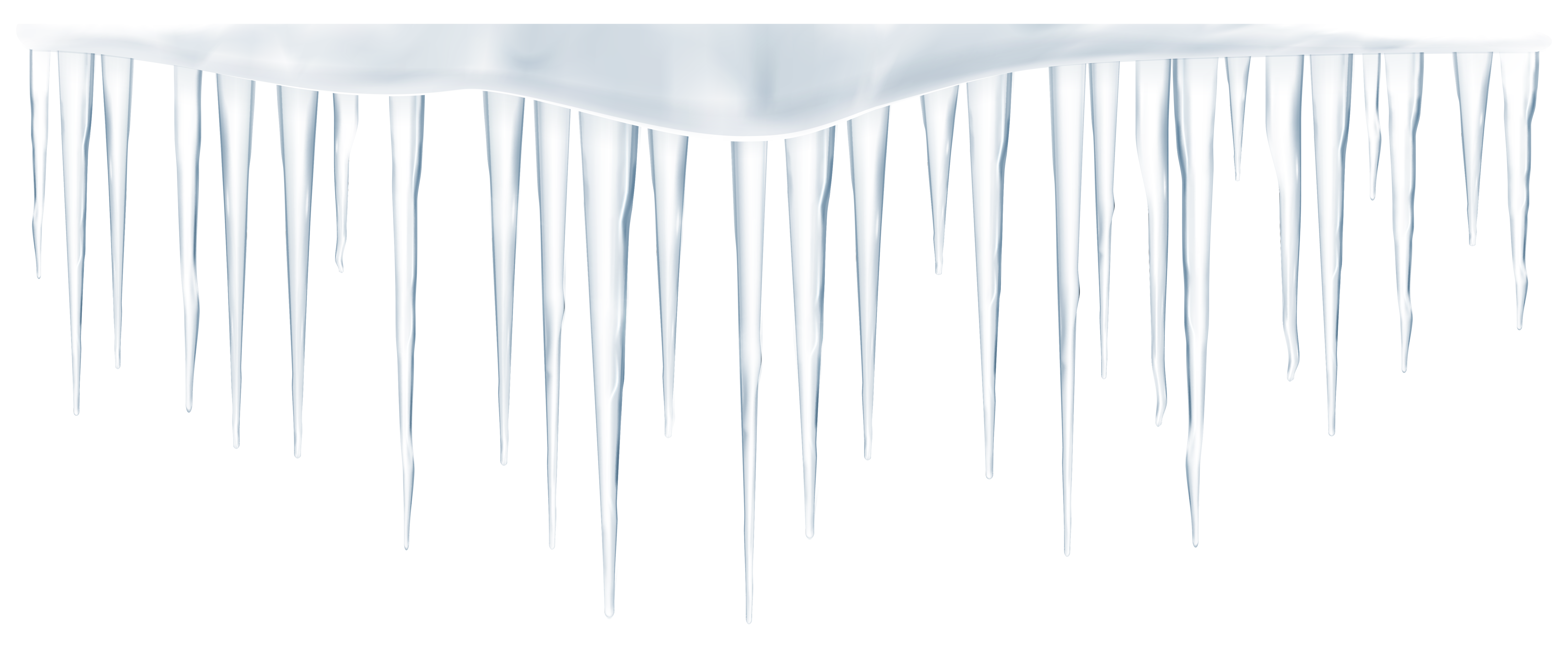Icicle border png. Icicles transparent clip art