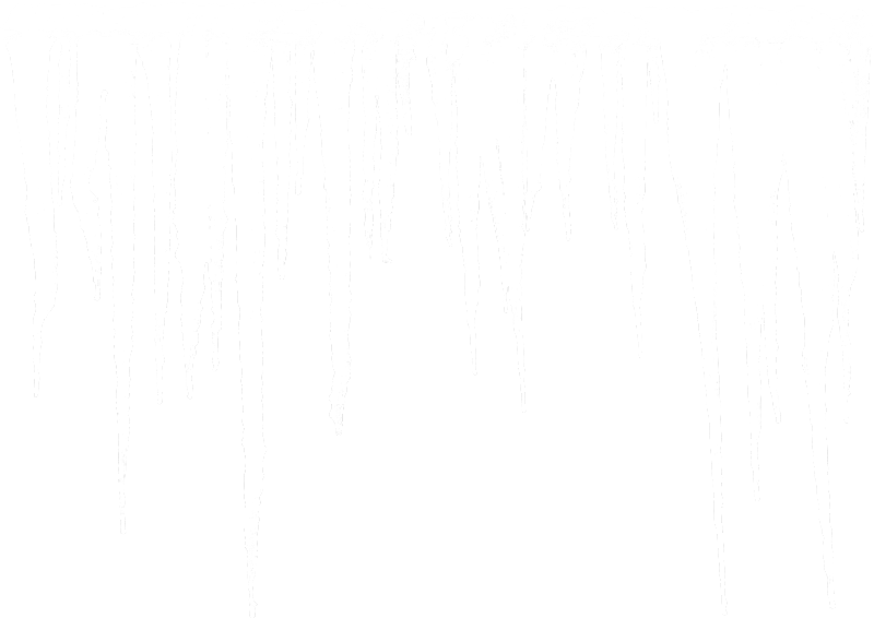 Icicle border png. Transparent natural icicles picture