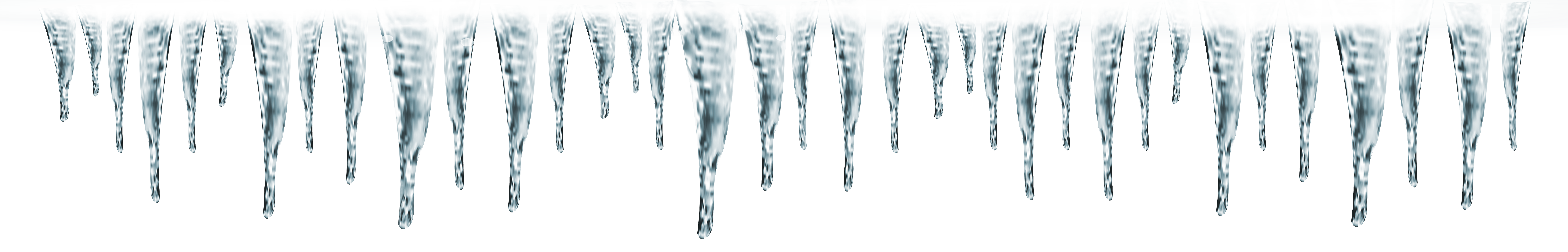 Icicles transparent free