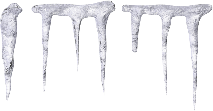 Icicles transparent vector. Png clipart psd peoplepng