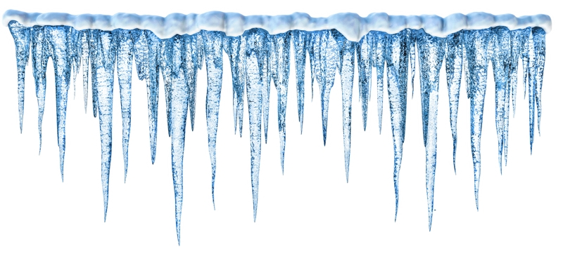 icicle clipart banner
