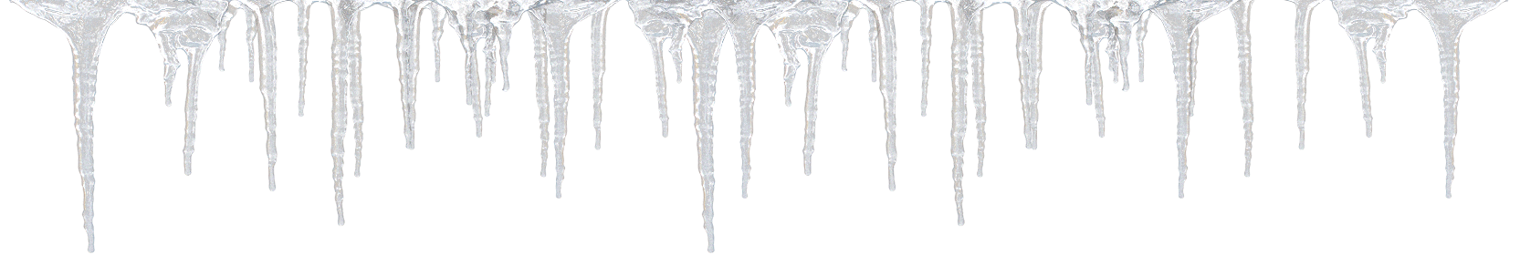 icicles transparent printable