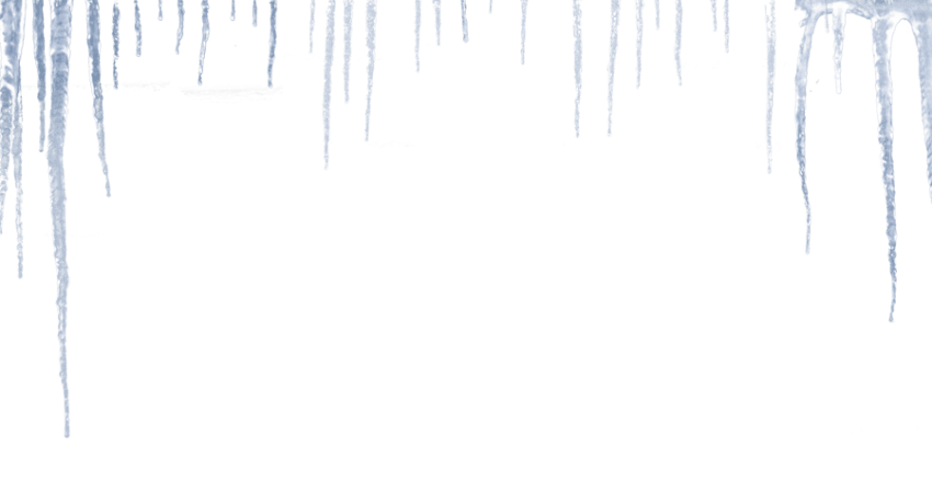 Png free images toppng. Icicles transparent banner freeuse