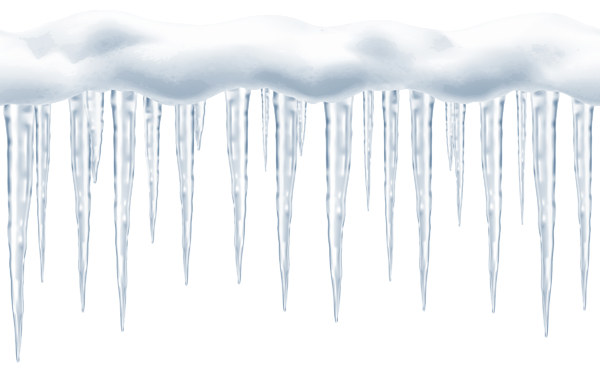 Icicles transparent. Large png clip art