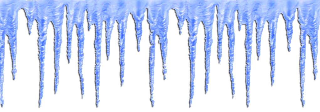 icicles transparent one
