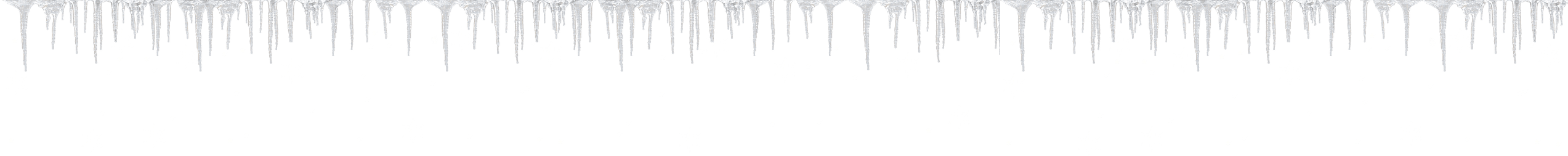 Icicles drawing. The snow queen theme