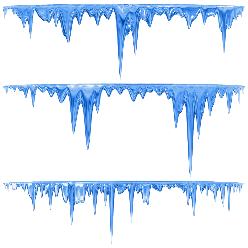 Icicles drawing hand. Icicle royalty free stock