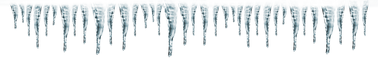 Icicles drawing paper. Popular and trending stickers