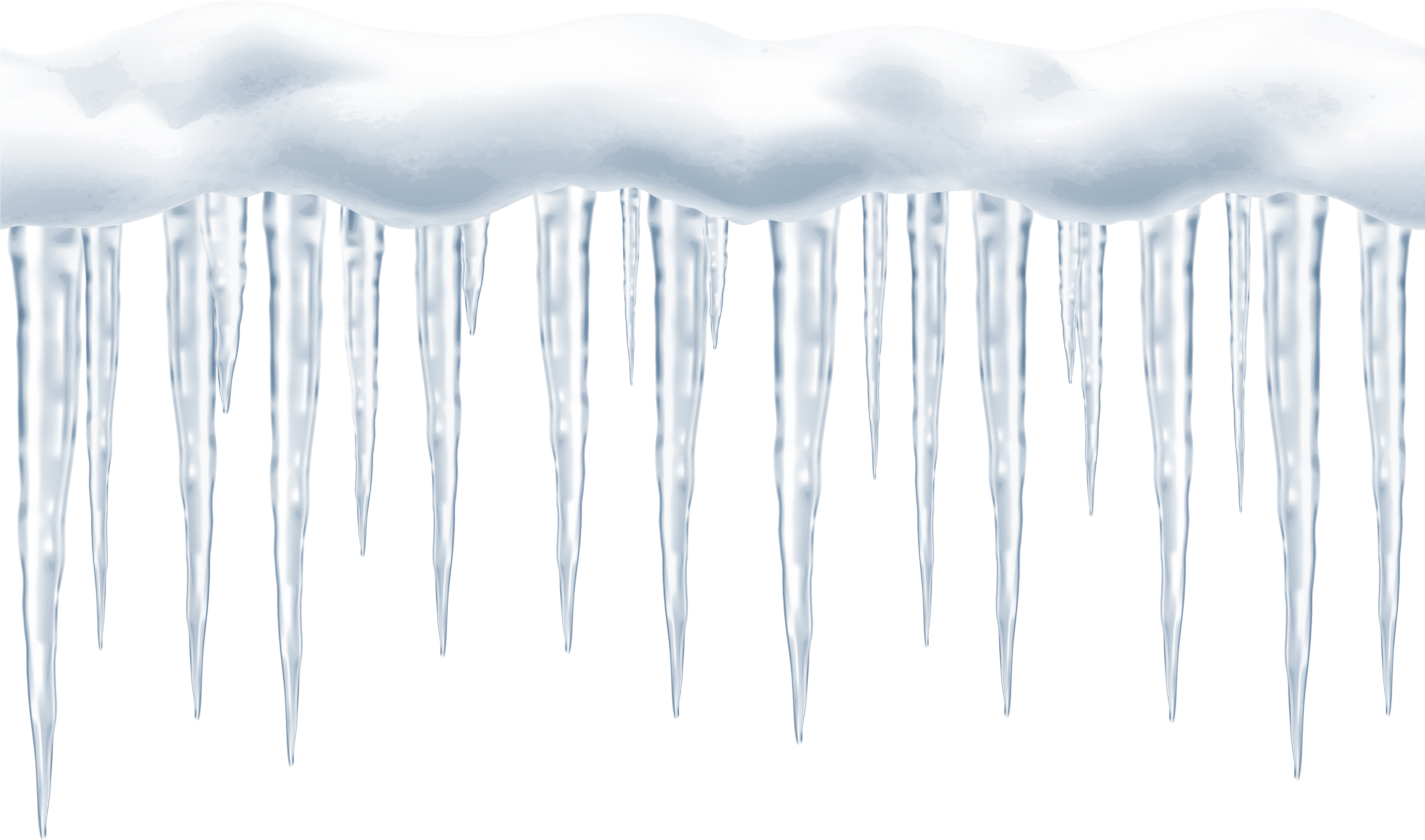 Download large png clip. Icicles transparent graphic transparent library