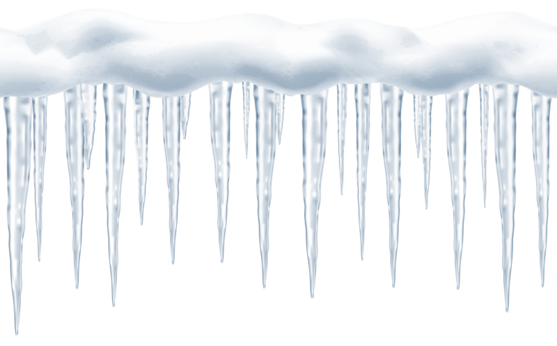 Icicles transparent vector. Download free png background