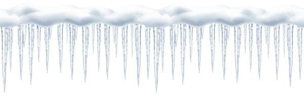 Icicles transparent night. Long png clip art