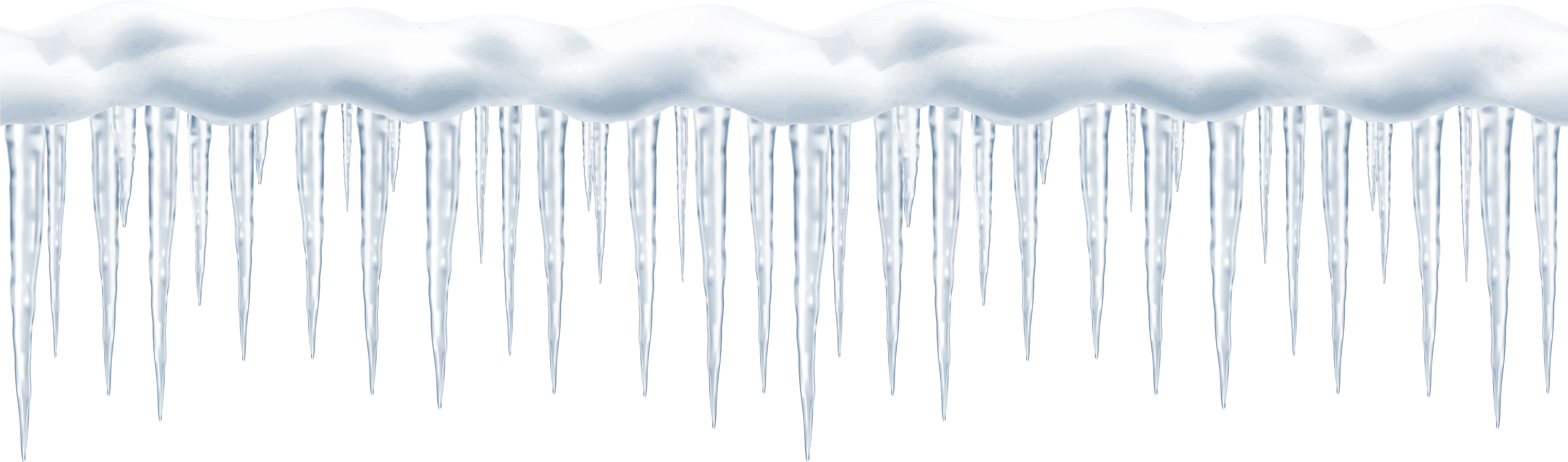 Download hd long png. Icicles transparent clip black and white library