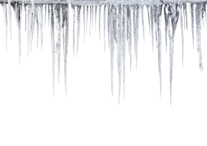 Vector icicles stalactite. Png file clipart psd