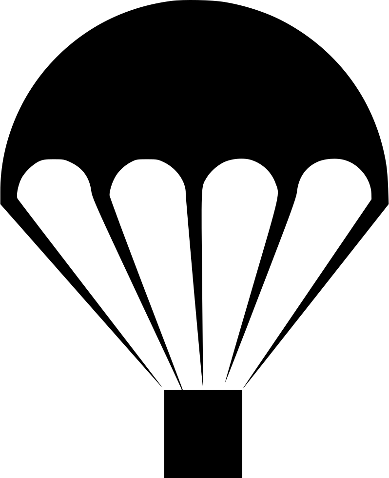 Icon parachute png. Svg free download onlinewebfonts