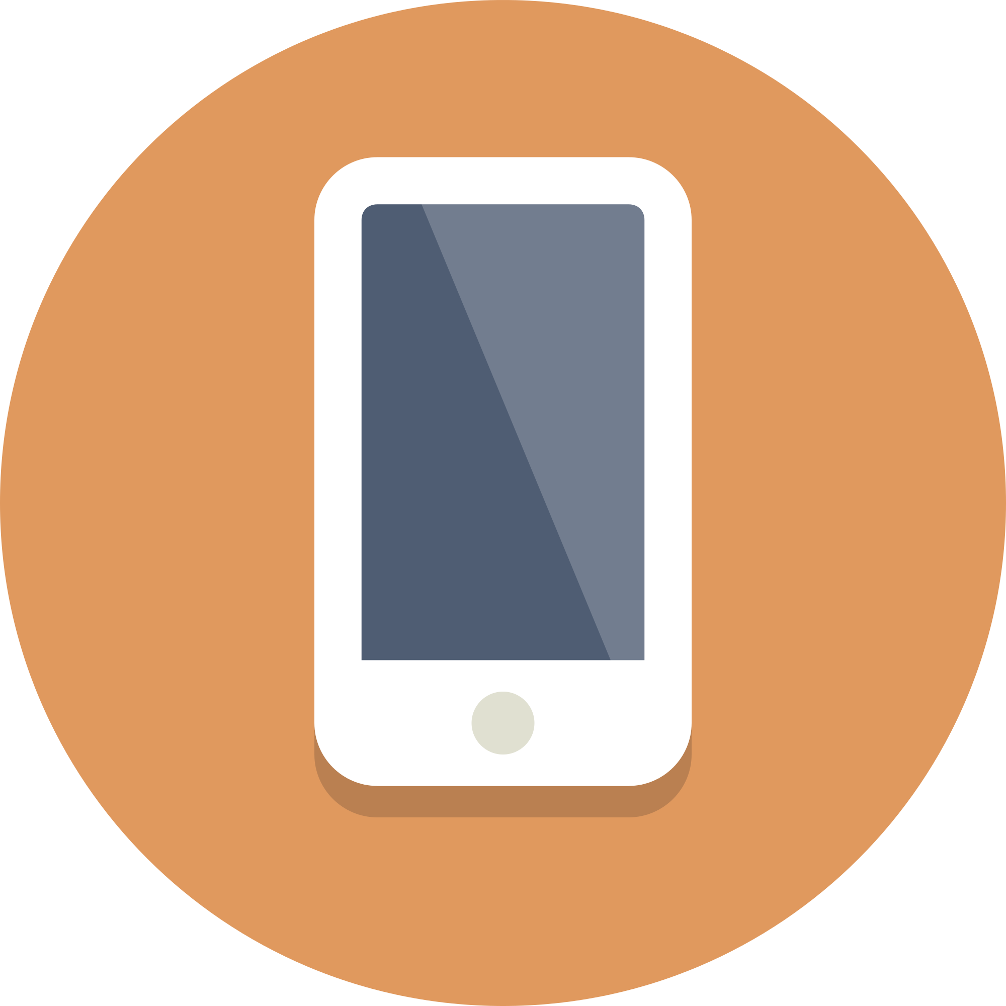Icon png circle. File icons smartphone svg