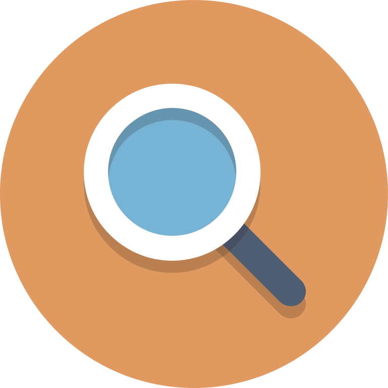 Icon png circle. File icons magnifyingglass svg