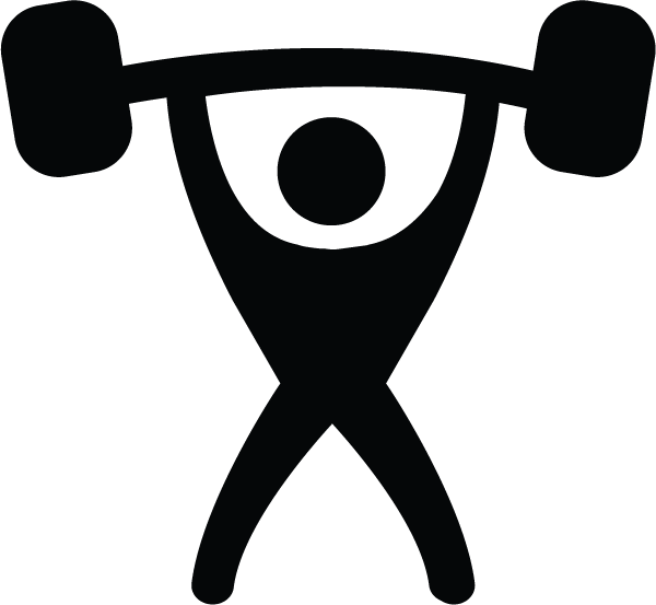 Transparent muscles icon. Muscle icons png vector