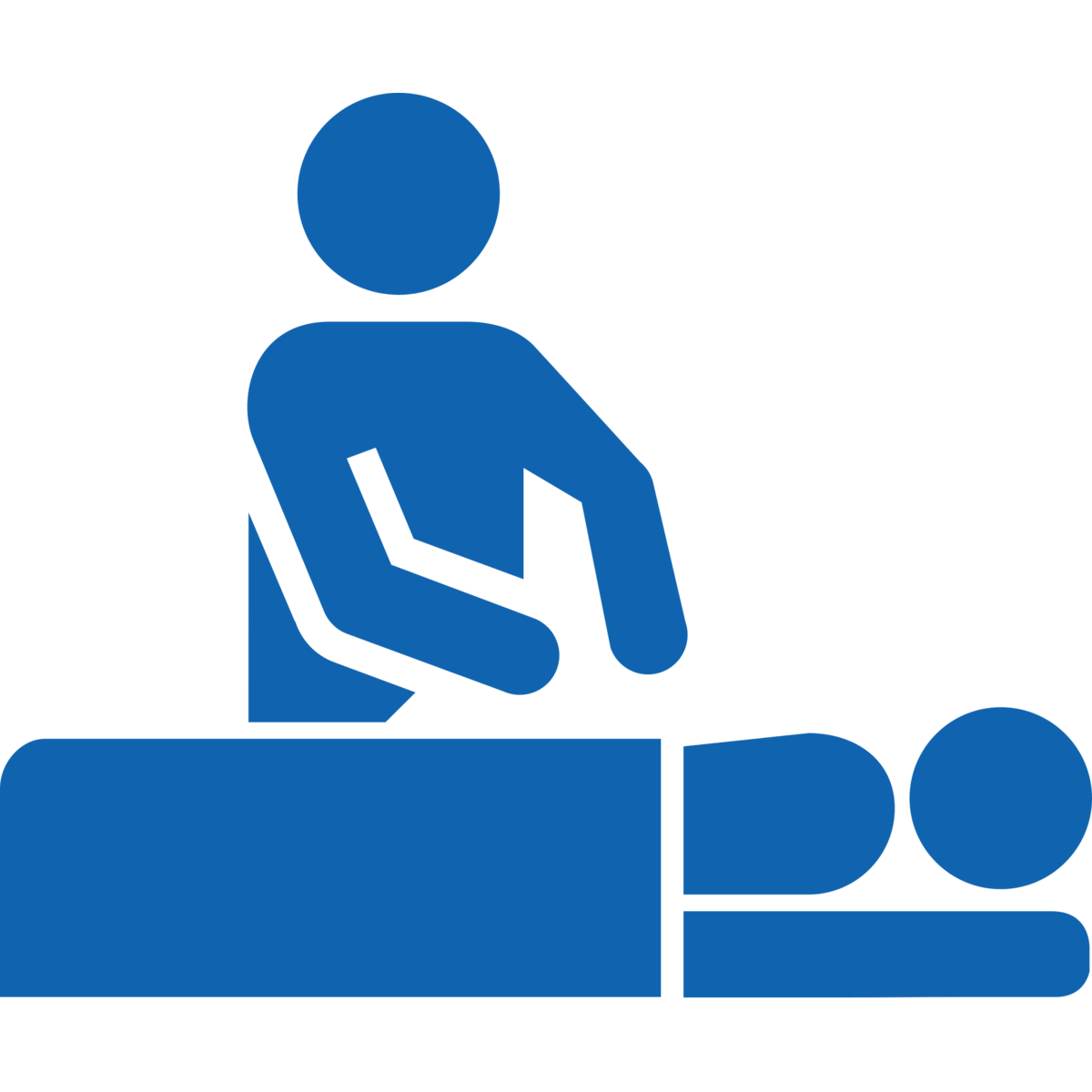 Massage vector art. Physical therapy icons png