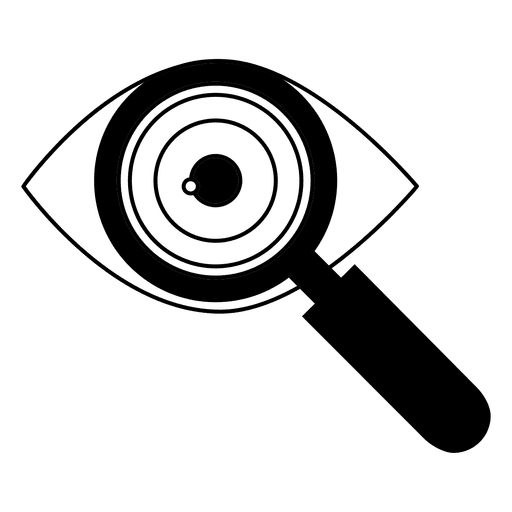 Vector tool doctor. Eye icon transparent png