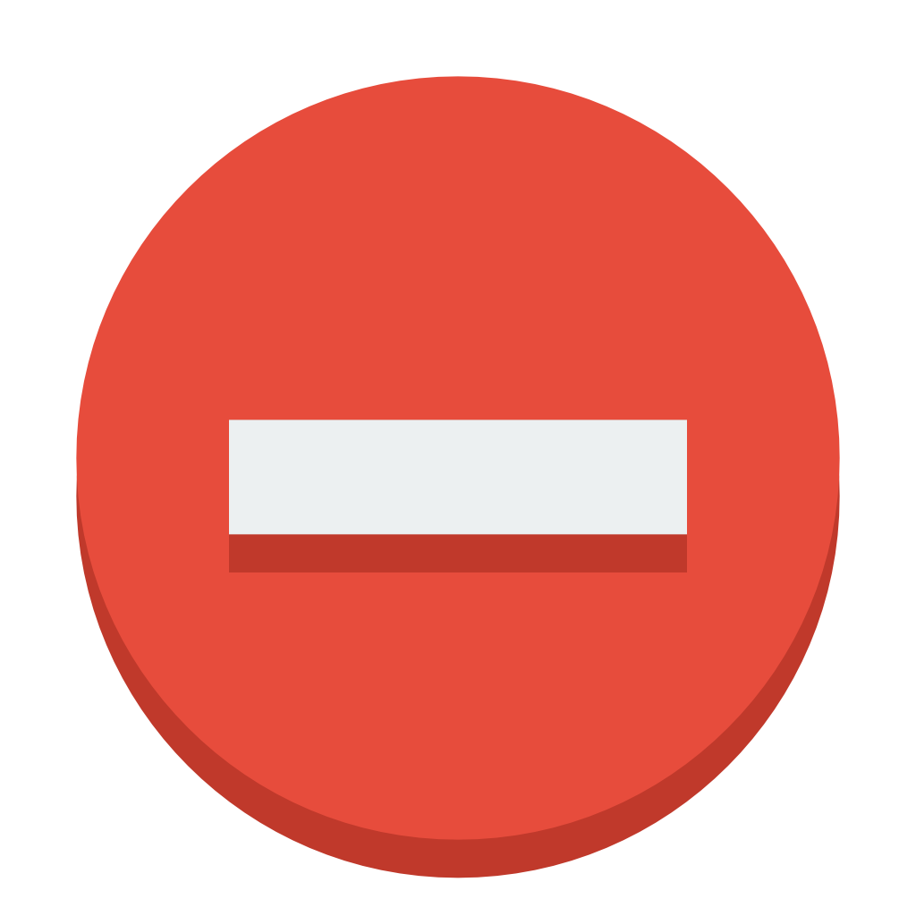 Icons transparent small. Sign delete icon flat