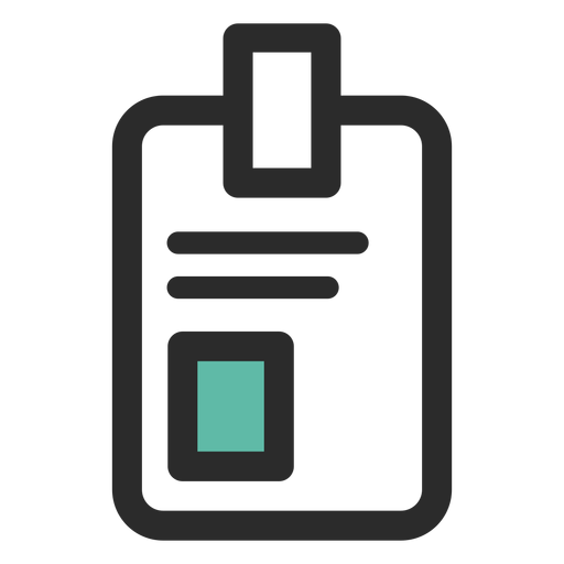 Svg id png. Badge colored stroke icon