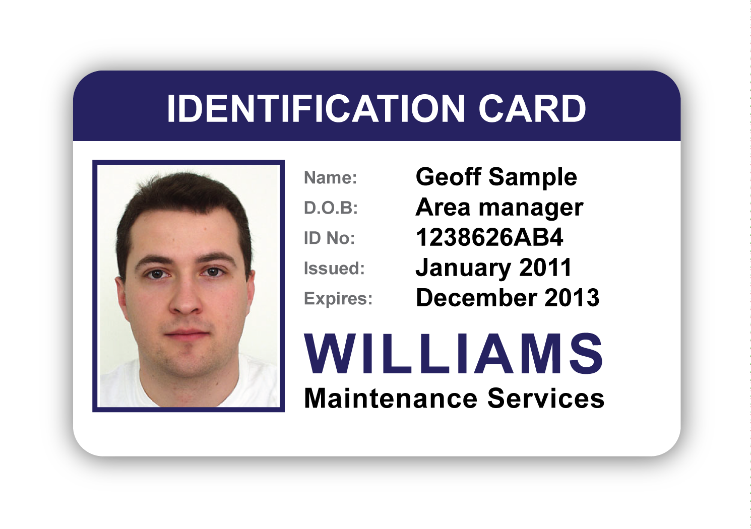 Id badge template png. Company templates perfect business