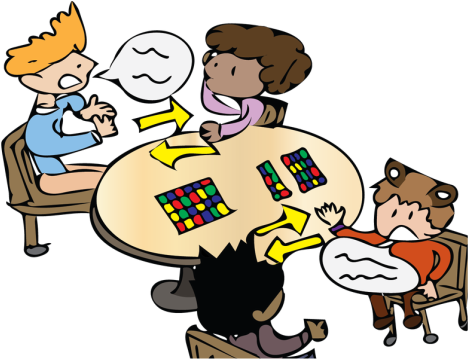 Idea clipart cooperative learning. The principles of learner