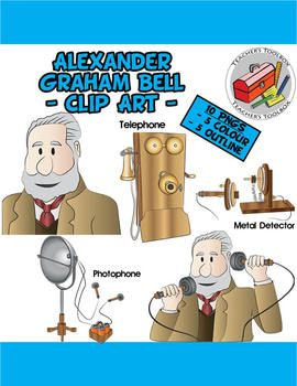 Idea clipart invention. Alexander graham bell and